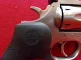 "*SOLD* Dan Wesson Arms Model 715 .357 Magnum 5"" barrel 6 shot DA/SA stainless steel revolver Hogue neoprene monogrip - 3 of 17"