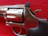 "*SOLD* Dan Wesson Arms Model 715 .357 Magnum 5"" barrel 6 shot DA/SA stainless steel revolver Hogue neoprene monogrip - 10 of 17"