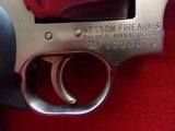 "*SOLD* Dan Wesson Arms Model 715 .357 Magnum 5"" barrel 6 shot DA/SA stainless steel revolver Hogue neoprene monogrip - 4 of 17"