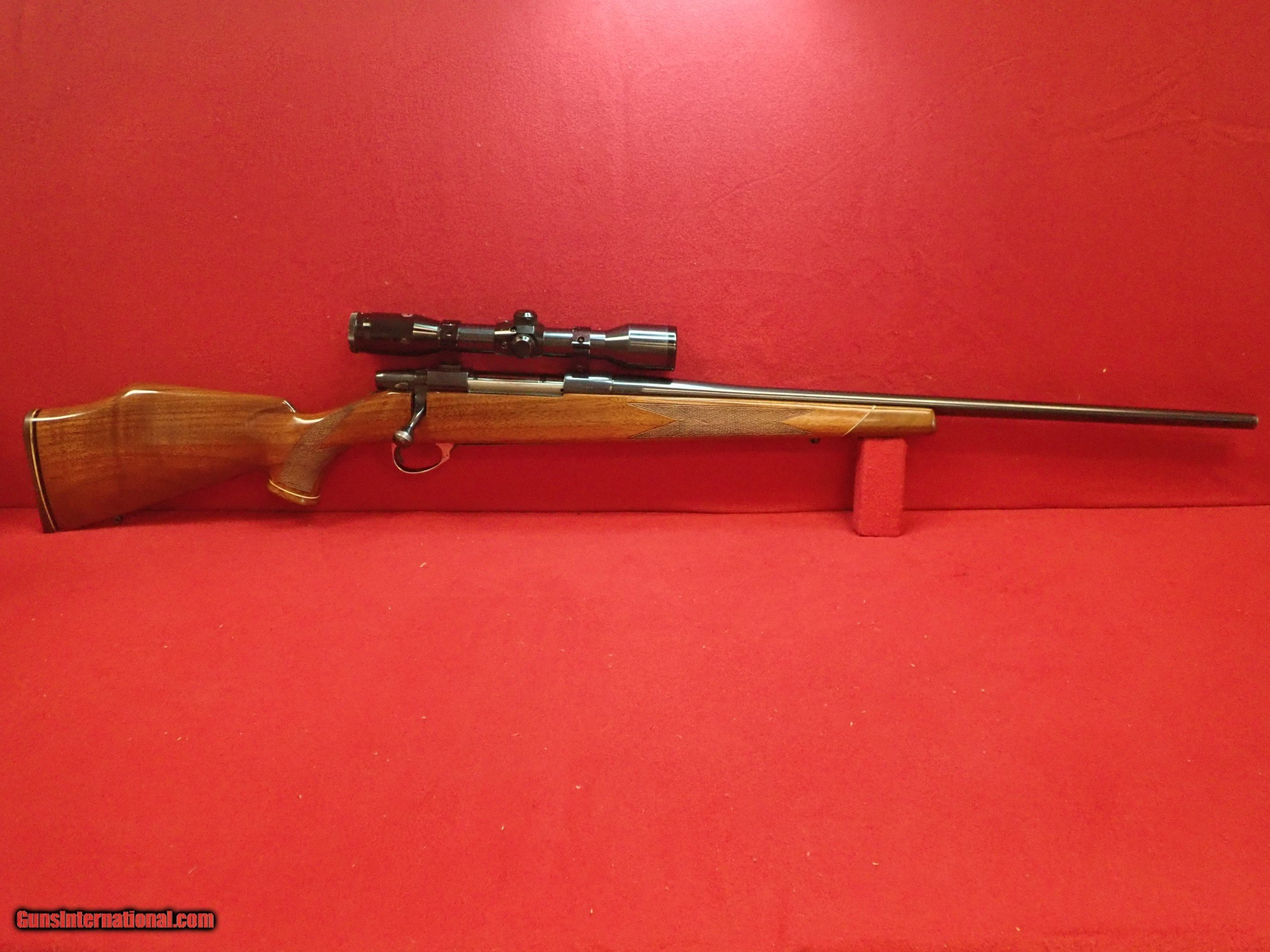 Weatherby Vanguard 7mm Remington Magnum 24 Barrel South Gate Bolt Action Rifle With Nickel Supra