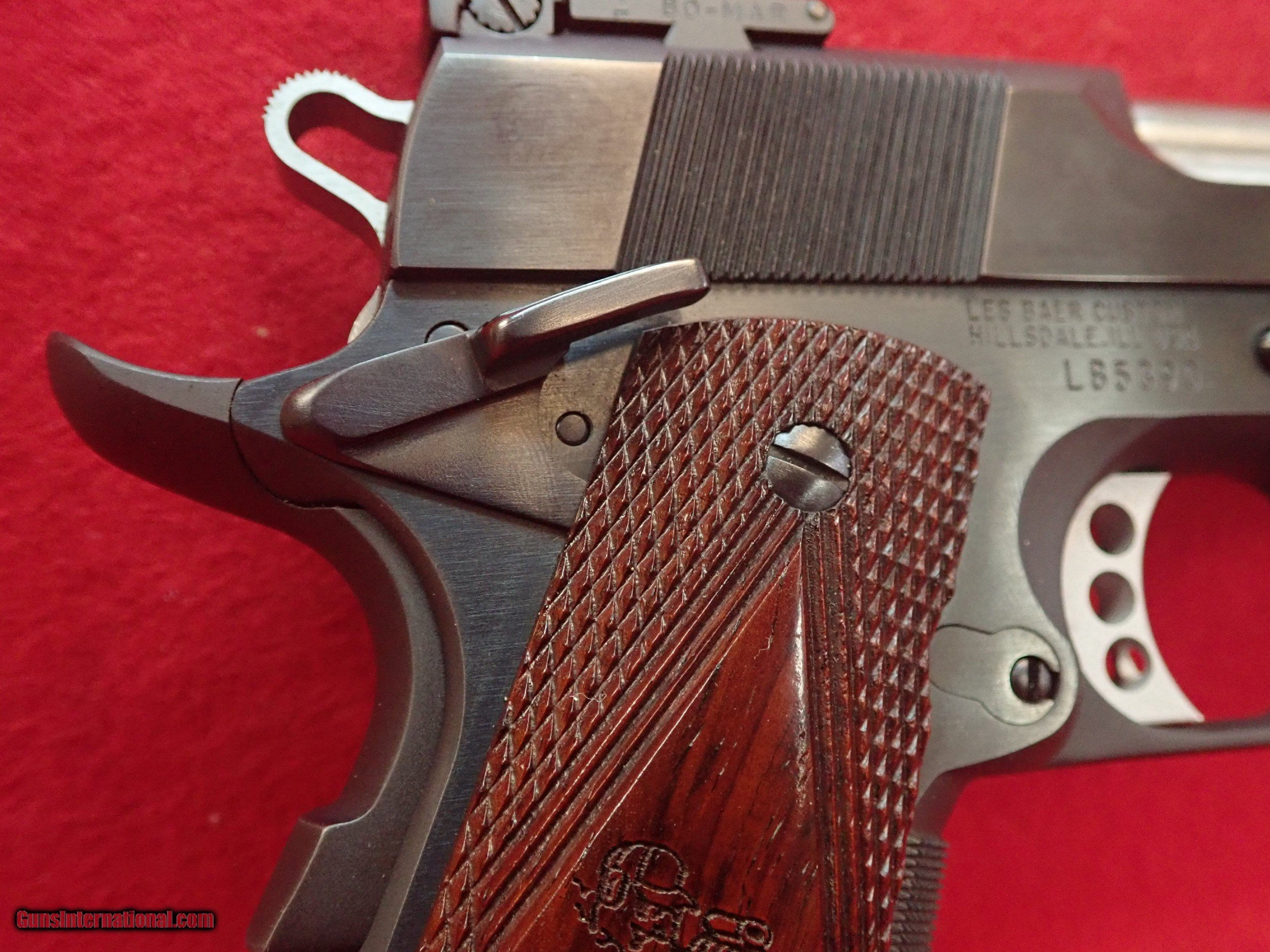 Les Baer Concept VII  45ACP 1911 Tactical With Bomar Target