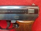 Mauser M1934 7.65mm Semi Auto Pistol with Nazi Waffenamt Marks Includes Magazine - 10 of 14
