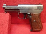 "Mauser M1914-34 7.65mm 3.4"" Barrel Semi Auto Pistol w/German Export Marks, Includes Magazine - 5 of 16"