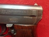 "Mauser M1914-34 7.65mm 3.4"" Barrel Semi Auto Pistol w/German Export Marks, Includes Magazine - 7 of 16"