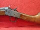 "Remington Model 4 .22L/S 22"" Octagonal Barrel Rolling Block Takedown Rifle - 10 of 18"