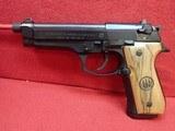 "Beretta 92FS 9mm 5"" Threaded Barrel w/15rd Mag, Original Barrel and Box - 6 of 21"
