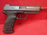 "HK HK45 .45ACP 5.25"" Threaded Barrel Semi Auto w/Night Sights, 10rd Mag - 1 of 16"