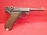 WWII German P-08 Luger 9mm w/Waffenamts, 42 Code, 1939mfg w/Holster