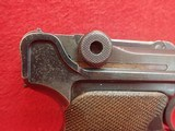 WWII German P-08 Luger 9mm w/Waffenamts, 42 Code, 1939mfg w/Holster - 3 of 25