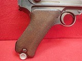 WWII German P-08 Luger 9mm w/Waffenamts, 42 Code, 1939mfg w/Holster - 2 of 25
