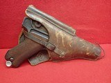 WWII German P-08 Luger 9mm w/Waffenamts, 42 Code, 1939mfg w/Holster - 24 of 25
