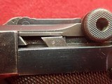 WWII German P-08 Luger 9mm w/Waffenamts, 42 Code, 1939mfg w/Holster - 10 of 25