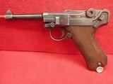 WWII German P-08 Luger 9mm w/Waffenamts, 42 Code, 1939mfg w/Holster - 7 of 25