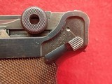 WWII German P-08 Luger 9mm w/Waffenamts, 42 Code, 1939mfg w/Holster - 9 of 25