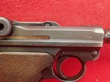 WWII German P-08 Luger 9mm w/Waffenamts, 42 Code, 1939mfg w/Holster - 4 of 25