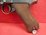 WWII German P-08 Luger 9mm w/Waffenamts, 42 Code, 1939mfg w/Holster - 8 of 25