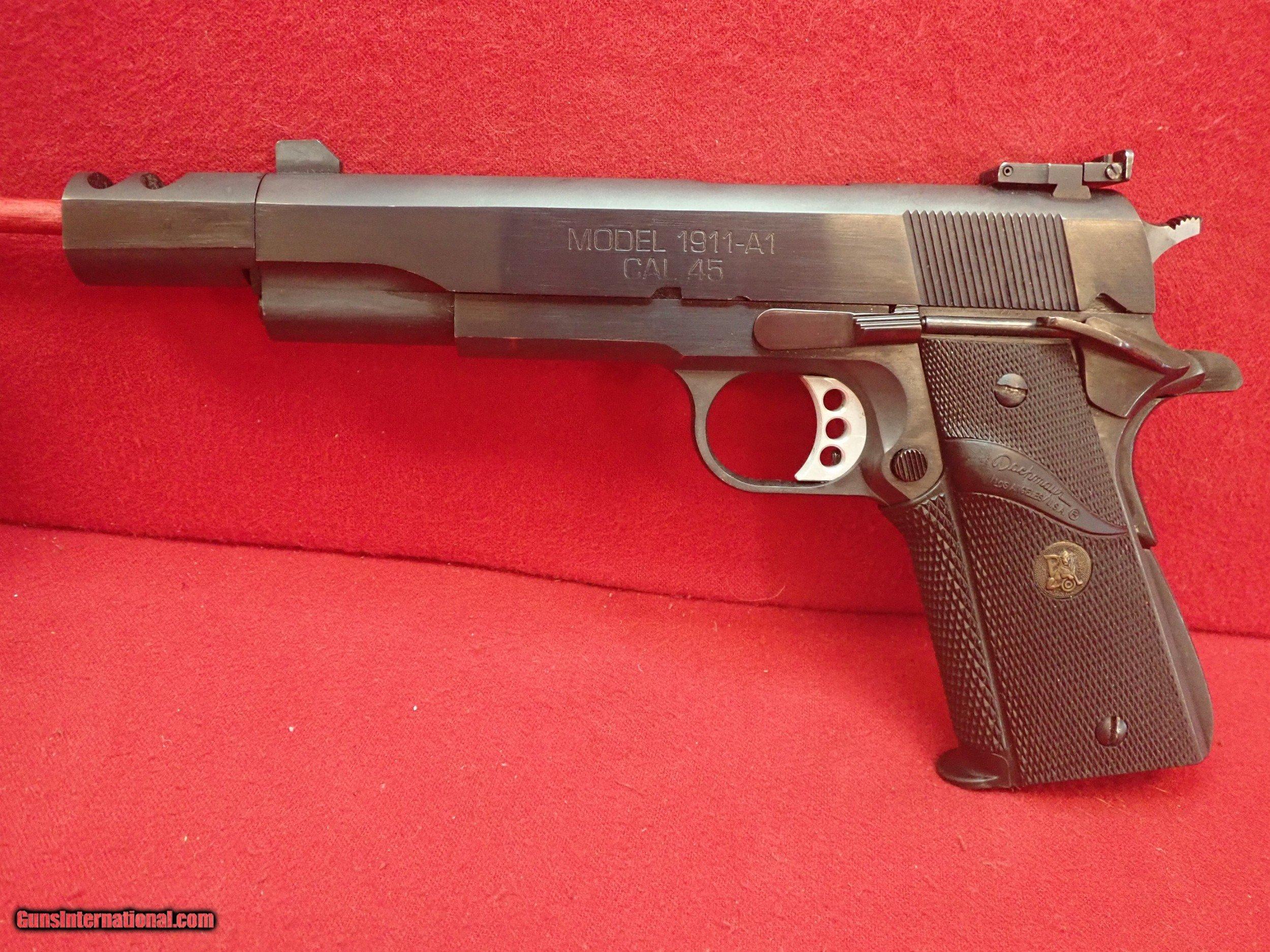 Springfield Armory 1911-A1 Factory Comp  45ACP 6 5