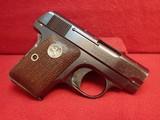 "Colt Vest Pocket Model 1908 Hammerless .25ACP 2"" Barrel Blued w/Walnut Grips 1927mfg - 1 of 17"