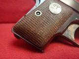 "Colt Vest Pocket Model 1908 Hammerless .25ACP 2"" Barrel Blued w/Walnut Grips 1927mfg - 2 of 17"