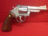 "Smith & Wesson Model 66-1 .357 Mag 4"" Barrel Stainless Steel Revolver 1980mfg"