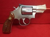 "Smith & Wesson 66-2 .357Mag 2.5"" Barrel Stainless Steel Revolver 1983mfg"