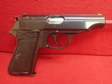 "Walther PP .32ACP 3.75"" Blued Semi Automatic Pistol w/8rd Magazine"