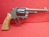 """Smith & Wesson M1917/1937 Brazilian Contract .45ACP 5.5"""" Barrel DA/SA 6-Shot Revolver"""