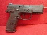 "FN FNX-9 9mm 4"" Barrel Semi Auto Pistol with Box, Three 17rd Mags"