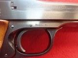 "Smith & Wesson Model 41 .22LR 7-3/8"" Barrel Semi Auto Target Pistol 1972-73mfg - 4 of 24"