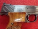 "Smith & Wesson Model 41 .22LR 7-3/8"" Barrel Semi Auto Target Pistol 1972-73mfg - 3 of 24"