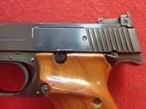 "Smith & Wesson Model 41 .22LR 7-3/8"" Barrel Semi Auto Target Pistol 1972-73mfg - 10 of 24"