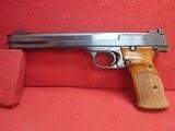 "Smith & Wesson Model 41 .22LR 7-3/8"" Barrel Semi Auto Target Pistol 1972-73mfg - 8 of 24"