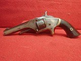 Smith & Wesson Model No. 1 2nd Issue .22 Short Black Powder Single Action Revolver 1860-1868mfg - 6 of 25
