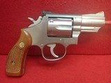 "Smith & Wesson 66-1 .357Mag 2.5"" Barrel Stainless Steel Revolver w/Original Box 1981mfg"