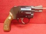 "Smith & Wesson Model 38 ""Airweight"" .38spl 1-7/8"" Barrel J-Frame Revolver w/Original Box 1973-74mfg"