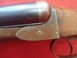 """A.H. Fox """"A Grade"""" 12ga 30"""" Krupp Steel Barrels 2-3/4"""" Chamber SxS Shotgun 1909mfg **SOLD** - 11 of 24"""