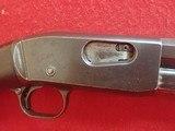 "Remington Model 12-C .22LR/L/S 24"" Threaded Barrel Pump Action Rifle, Takedown Model, 1918mfg - 4 of 25"