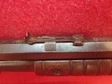 "Remington Model 12-C .22LR/L/S 24"" Threaded Barrel Pump Action Rifle, Takedown Model, 1918mfg - 6 of 25"