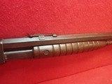 "Remington Model 12-C .22LR/L/S 24"" Threaded Barrel Pump Action Rifle, Takedown Model, 1918mfg - 5 of 25"