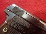 "Colt Vest Pocket Model 1908 Hammerless .25ACP 2"" Barrel Blued 1919mfg ***SOLD*** - 3 of 24"