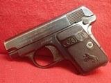 "Colt Vest Pocket Model 1908 Hammerless .25ACP 2"" Barrel Blued 1919mfg ***SOLD*** - 5 of 24"
