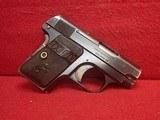 """Colt Vest Pocket Model 1908 Hammerless .25ACP 2"""" Barrel Blued 1919mfg"""