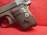 "Colt Vest Pocket Model 1908 Hammerless .25ACP 2"" Barrel Blued 1919mfg ***SOLD*** - 6 of 24"