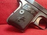 "Colt Vest Pocket Model 1908 Hammerless .25ACP 2"" Barrel Blued 1919mfg ***SOLD*** - 2 of 24"