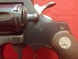 """Colt Officers Model Match .22LR 6"""" Barrel Revolver Blued Finish Revolver 1960mfg - 10 of 25"""