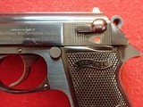"""Walther (Interarms) PPK/S .380acp 3"""" Barrel Blued Finish Semi Automatic Pistol - 8 of 22"""