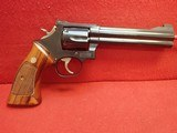 "Smith & Wesson ""Distinguished Combat Magnum"" Model 586 .357 Magnum 6"" Barrel Blued Finish 1984mfg"