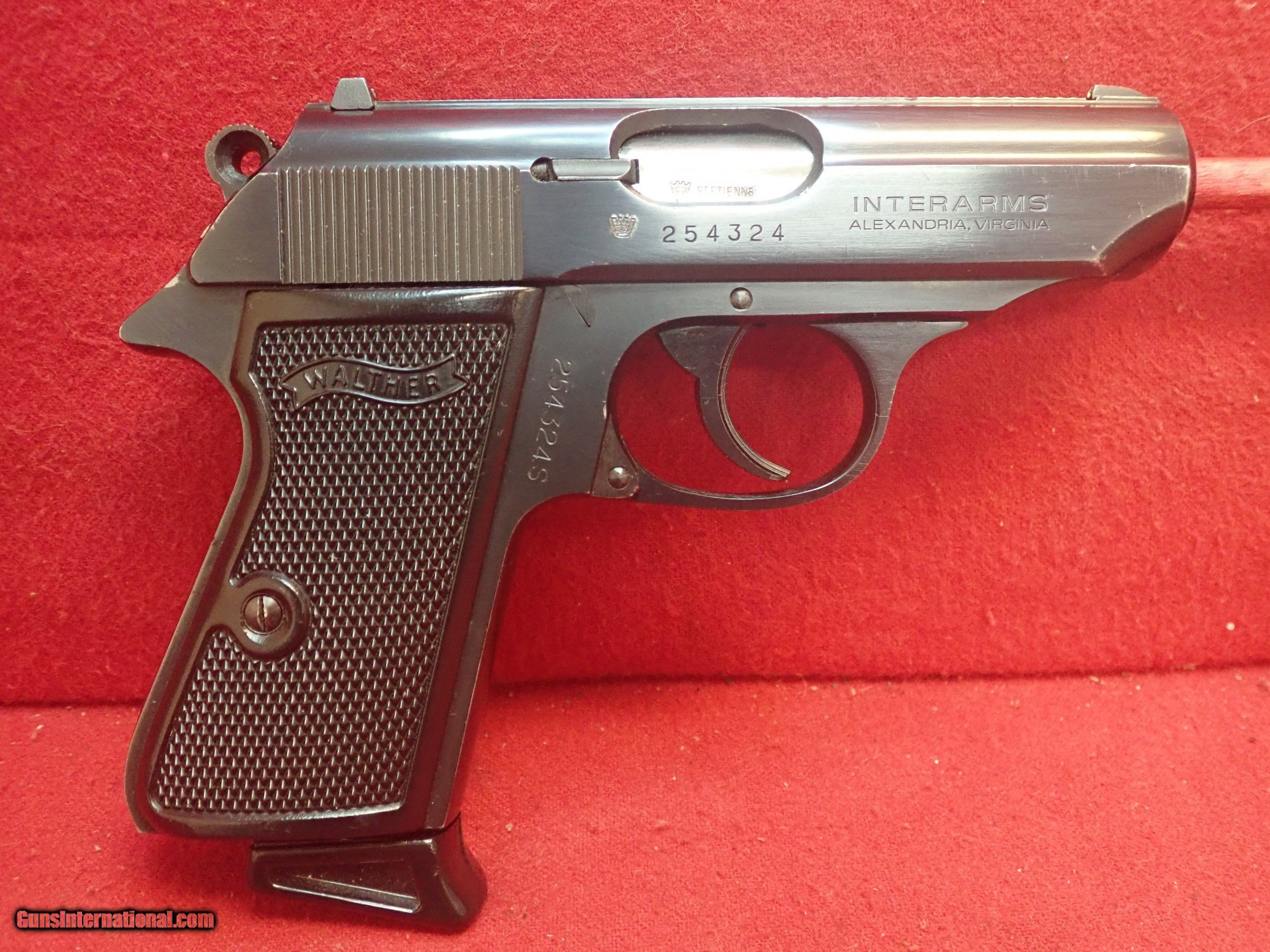 Walther (Interarms) Made in France PPK/S  380acp 3