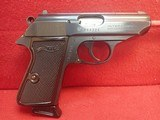 """Walther (Interarms) Made in France PPK/S .380acp 3"""" Barrel Blued Finish Semi Automatic Pistol w/Box, two mags"""