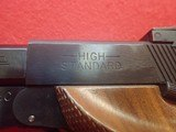 "High Standard Supermatic Tournament Model 107 Military .22LR 5.5"" Barrel Semi Auto Pistol w/Two Mags 1967-68mfg - 10 of 21"